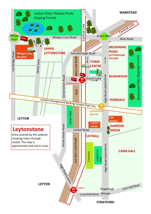 LeytonstoneAreaMap