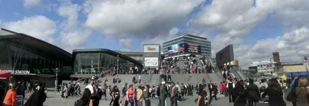 Westfield Stratford City from Meridian Square