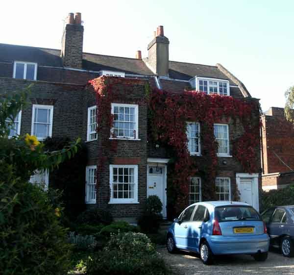 Houses on Whipps Cross Road
