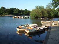Hollow Pond boats