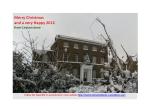 Christmas Leytonstone House