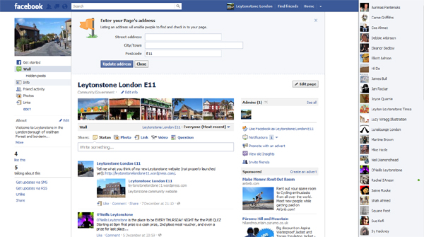 Leytonstone London E11 Facebook page