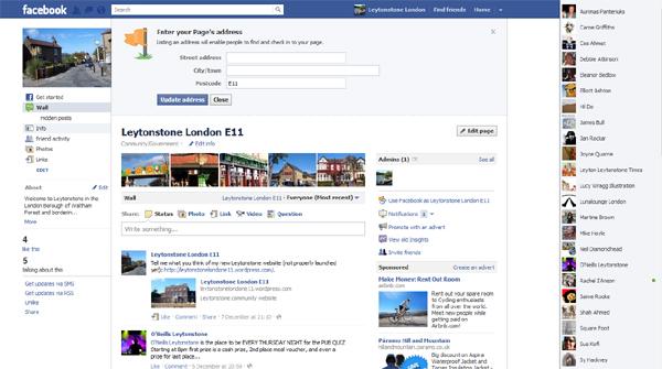 Leytonstone London E11 Facebook page