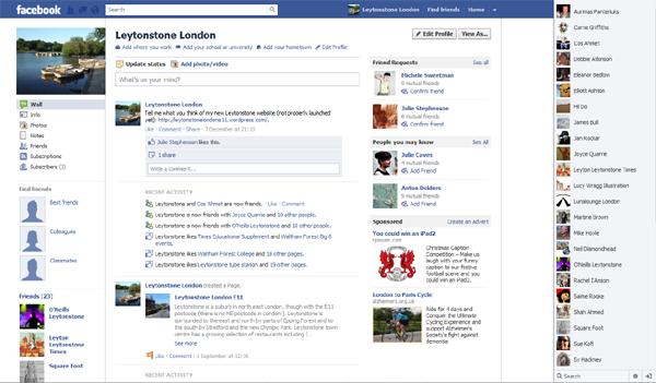 Leytonstone London Facebook profile