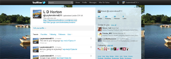 Leytonstone Twitter page
