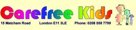 Carefree Kids logo