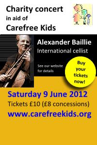 Alexander Baillie concert small vertical banner