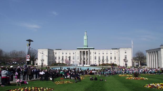 The Queen's visit to Waltham Forest Town Hall 29 March 2012