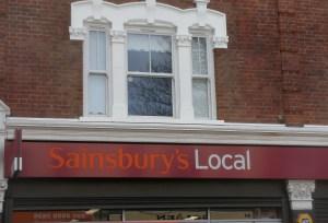 Sainsbury's Church Lane Leytonstone