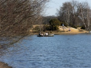Hollow Pond boats March 2012