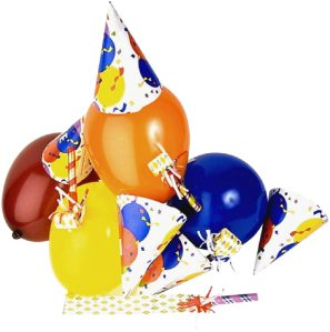 Party baloons and hats