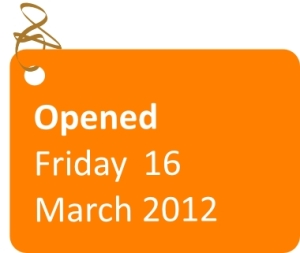 Sainsburys opened Friday 16 March 2012