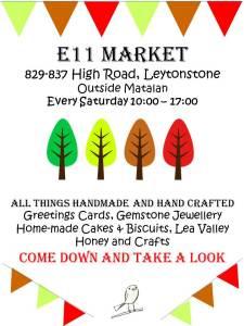 E11 Market poster