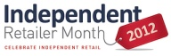Independent Retailer Month logo