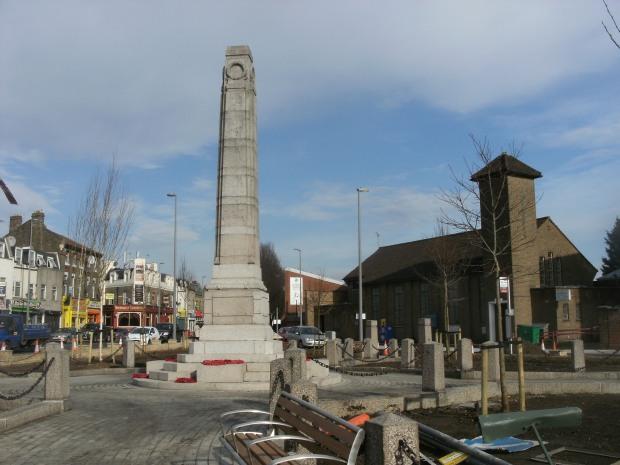 Harrow Green and the War Memorial