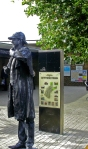 2012 Car Free Day Leytonstone human statue