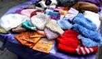2012 Car Free Day Leytonstone knitting