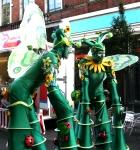 2012 Car Free Day Leytonstone stilts