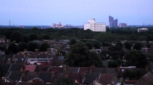 Wanstead Flats and looking East