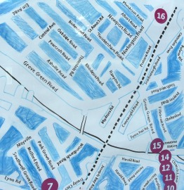 Leytonstone Arts Trail 2012 map