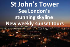 St Johns Church Tower Tours advertisement